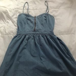 Vans - Mini denim dress